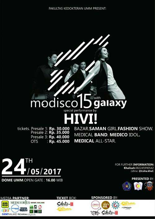 Modisco 15 with Galaxy