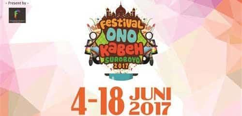 Live Music Performance di Festival Onokabeh Suroboyo 2017