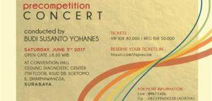 Precompetitionn Concert Oleh PSM ITS