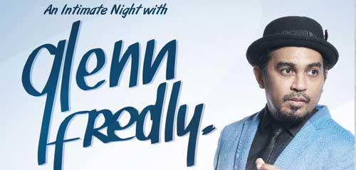 An Intimate Night With Glenn Fredly di Titan Center