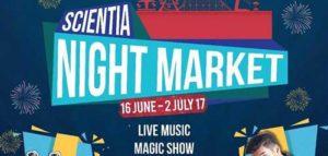 JAZ Bintang Tamu di Scientia Night Market 2017