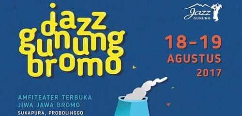 Jazz Bernuansa Etnik di Jazz Gunung Bromo 2017