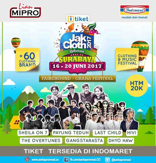 JakCloth 2017 Lebaran Goes To Surabaya