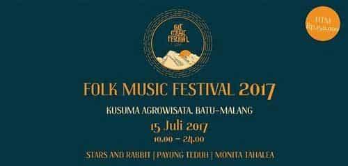 Folk Music Festival 2017 Hadirkan Monita Tahalea