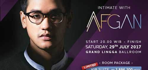 Intimate With AFGAN di Hotel Mercure Karawang