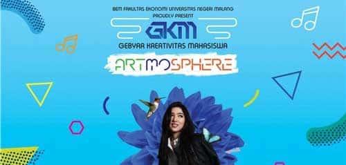 Isyana Sarasvati Bintang Tamu GKM Artmosphere