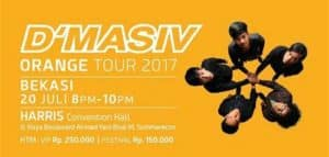 Kolaborasi Sore & Konspirasi di D'Masiv Orange Tour