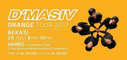 Kolaborasi Sore & Konspirasi di D'Masiv Orange Tour