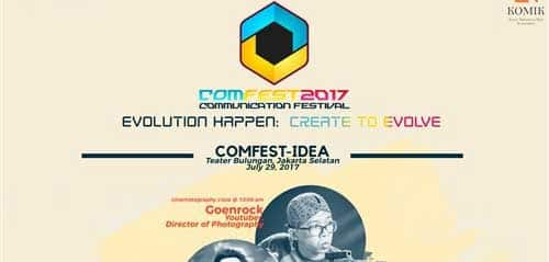 Live Performance Semarakkan COMFEST 2017