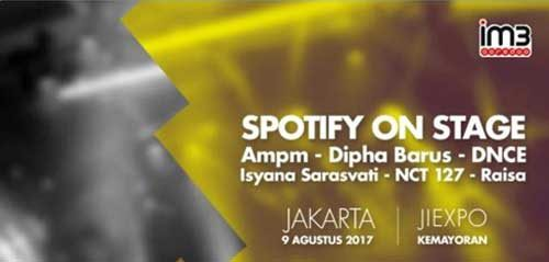 Spotify on Stage Bersama Raisa & Dipha Barus