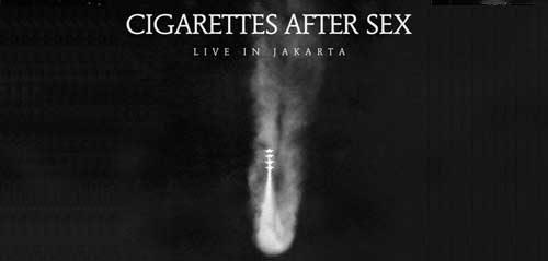 Cigarettes After Sex Tampil di Jakarta