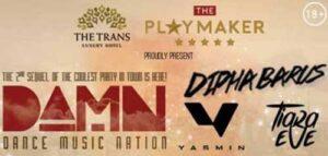 Dipha Barus Ramaikan Dance Music Nation