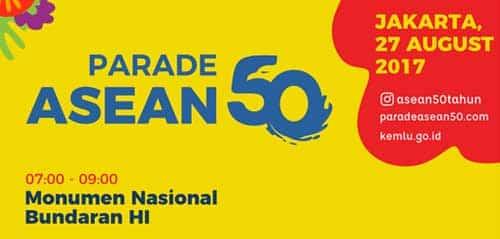 LSPR Choir & Musikimia Meriahkan Parade ASEAN 50