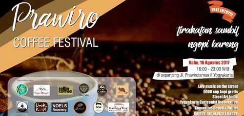 Live Music On The Street di Prawiro Coffee Festival 2017