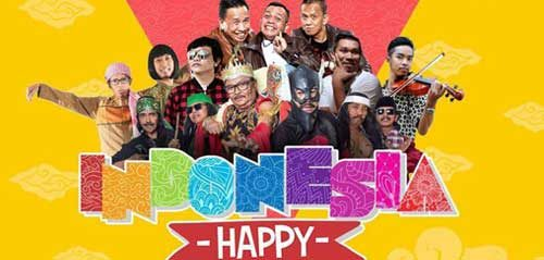 Nyanyi & Ketawa Gratis di Indonesia Happy