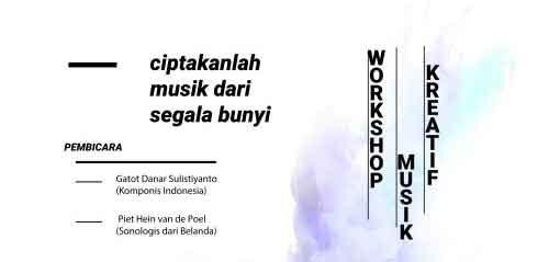 Workshop Musik Kreatif