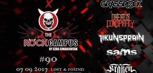 Band Grassrock Manggung di #THEROCKCAMPUS Eps 90