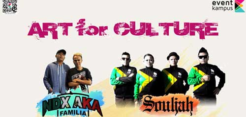 Souljah Getarkan Panggung Art For Culture