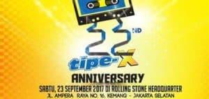 Tipe-X Persembahkan Konser 22 Tahun Berkarya