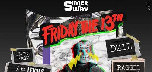 Friday the 13th di Sinner Sway Vol.1