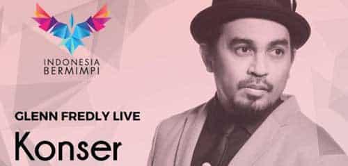 Glenn Fredly Gelar Konser Indonesia Bermimpi