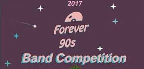 Kompetisi Lagu Era 90-an di Forever 90s Band Competition