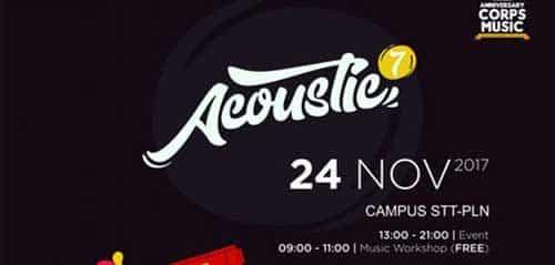 All Right Mama Tampil di Komus Carnival Acoustic 7
