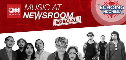 Mocca Tampil di Newsroom Special Echoing Indonesia