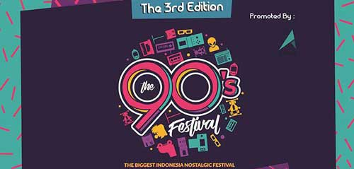 Musisi Era 90-an Tampil di The 3rd Edition 90s Festival