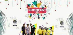 Naif Bintang Tamu Commfest UBJ 2017