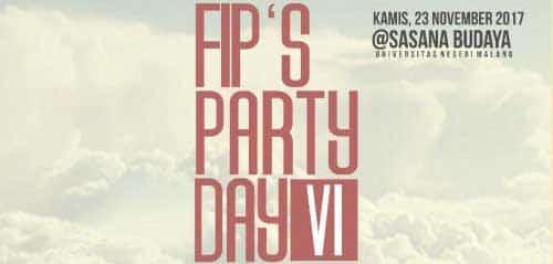 Samskrta Meriahkan FIP PARTY DAY #6