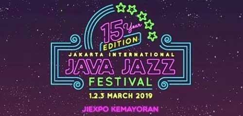 Playlist Java Jazz Festival 2019