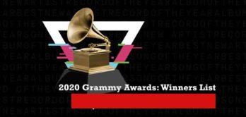Pemenang Grammy Awards 2020